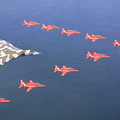 Vulcan And Hawks by Roy Pedersen