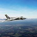 Vulcan In Flight 2 by Gary Eason