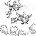Vultures by Ersin Ipek