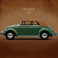 VW Beetle 1953 by Mark Rogan
