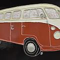 Vw Bus by Christine Dekkers