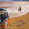 Vw Love On Beach by Martin Fry