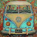Vw Van by Brenda Brannon
