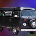Vw Van by Gary Adkins