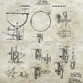 W F Ludwig Kettle Drum Patent by Paulette B Wright