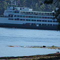 Wa State Ferry In Manchester by Michael Lancaster