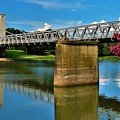 Waco Suspension Bridge 2 by Dennis Nelson