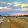 Wades Beach Sundown Study II by Phyllis Tarlow