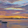 Wades Beach Sunset by Phyllis Tarlow