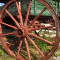 Wagon And Wheel by David Lee Thompson
