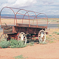 Wagon Of The West by Michel Poulin