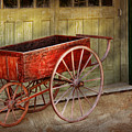 Wagon - That Old Red Wagon  by Mike Savad