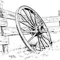 Wagon Wheel by Bob Hallmark