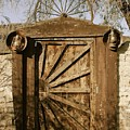 Wagon Wheel Gate by Katy Granger
