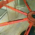 Wagon Wheel Table by Mary Kobet