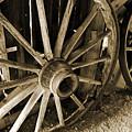 Wagon Wheels 3 by Joanne Coyle