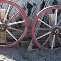Wagon Wheels. by Robert Rodda