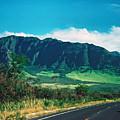 Waianae Mountains by Thomas R Fletcher