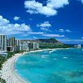 Waikiki Beach by Tomas del Amo - Printscapes