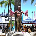 Waikiki Statue - Duke Kahanamoku by Mary Deal