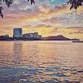 Waikiki Sunrise by Jason Keinigs