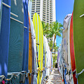 Waikiki Surfboards by G Ward Fahey