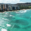 Waikiki To Diamond Head by Sean Davey