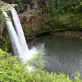 Wailua Falls, Kauai by Patrick Civello