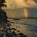 Waimanalo Rainbow by Mitch Shindelbower