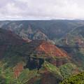 Waimea Canyon 2 Kauai by Phil Welsher