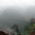 Waimea Canyon Fog by Mary Haber
