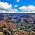 Waimea Canyon Hawaii by Bob Slitzan