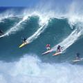 Waimea Full Flight by Kevin Smith
