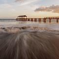 Waimea Pier by Dustin LeFevre