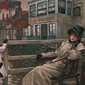 Waiting For The Ferry by James Tissot