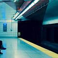 Waiting For The Train by Eli Guzman