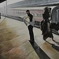 Waiting For The Train by Mrutyunjaya Dash