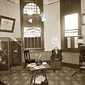 Waiting Room Of Dr. C. H. Pearce, D.d.s. Dentist, Watsonville,  by California Views Archives Mr Pat Hathaway Archives