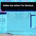 Wake Me Up When I Am Famous by Bob Christopher