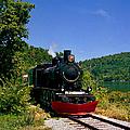 Wakefield Steam Train by Gerard Martineau