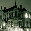 Waldorf College, The Centre For Science And Arts By Night Stround Gloucestershire by Jacek Wojnarowski