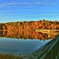 Walk Across The Bridge Into Autumn by Ola Allen