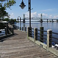 Walk Along The Fear River - Wilmington by Christiane Schulze Art And Photography