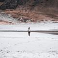 Walk At The Beach  by Eskil Bjerkestrand