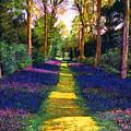 Walk Through Blue by David Lloyd Glover