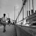 Walkers, Brooklyn Bridge, Nyc #130508 by John Bald