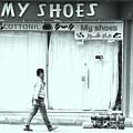 Walkin In Them  by Jez C Self