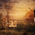 Walking Between Lions by Zita Stankova