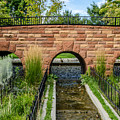 Walking Bridge With Arches by Sue Smith