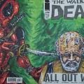 Walking Dead Deadpool Mash-up  by Michael Toth